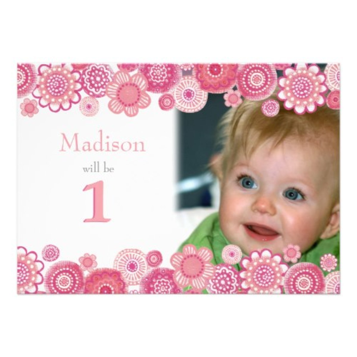 Check out my Pip Pip Hooray Store for lots of Pink invitations and stationery that can be personalized!!