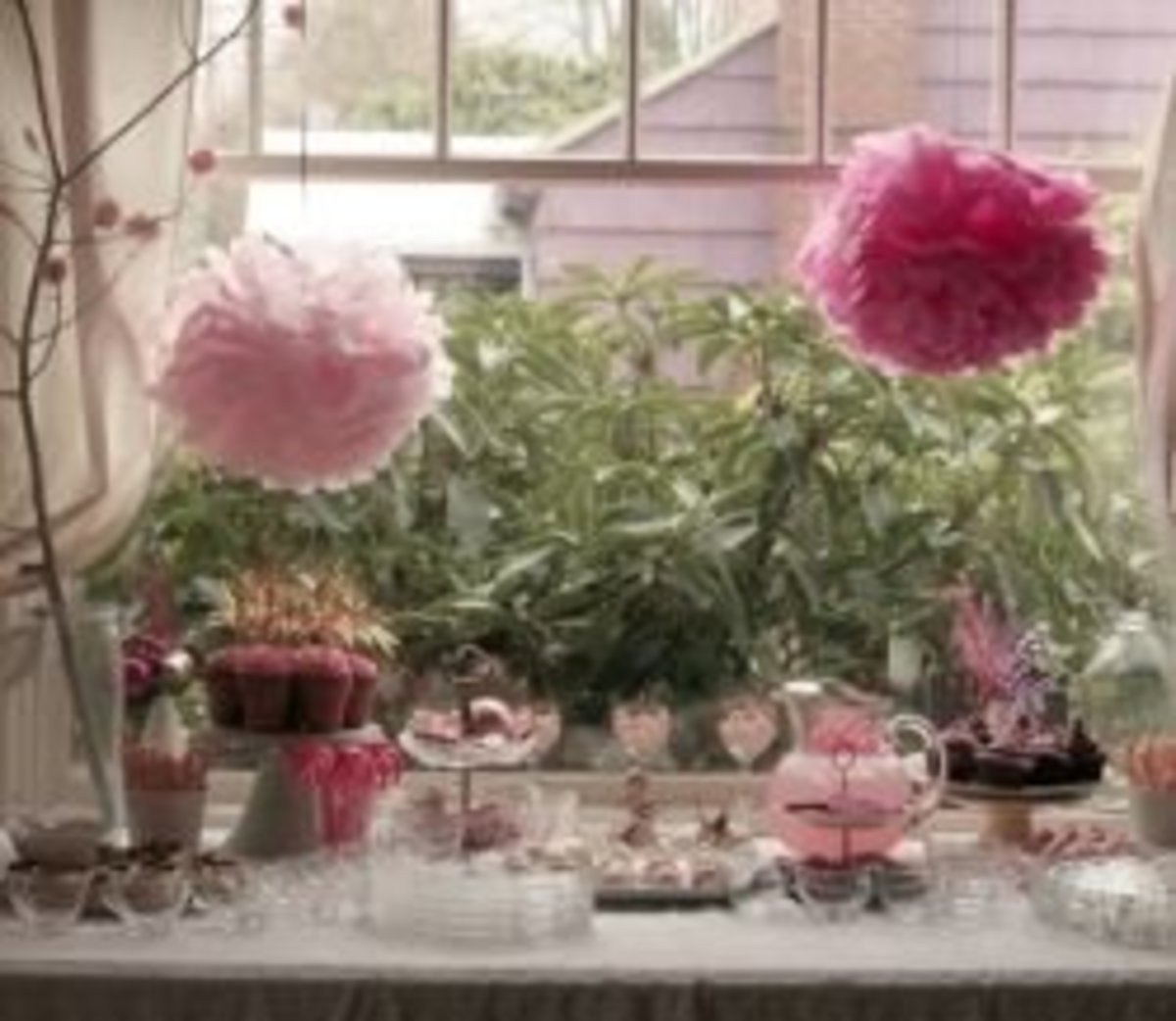 Girls Color Pink Theme Party or Decorating Ideas