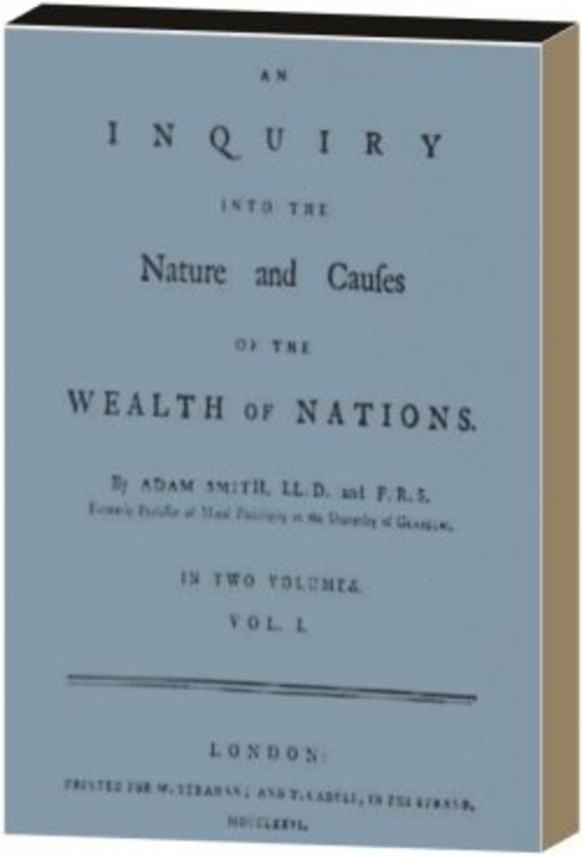 The Cover of Wealth of Nations by Adam Smith
