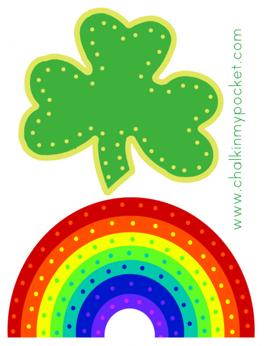 St. Patrick's Day lace up cards. Source:  4shared
