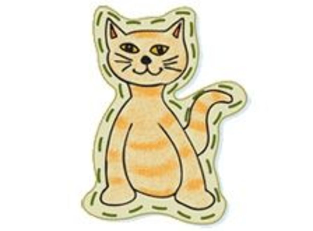 Cat Sewing Card. Source:  Sprout