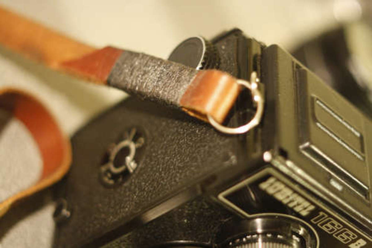 Upcycled Leather Belt Camera Strap via Instructables