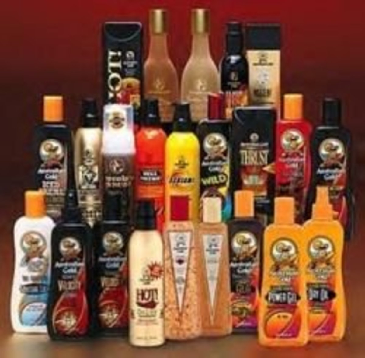 tanning lotions and sprays