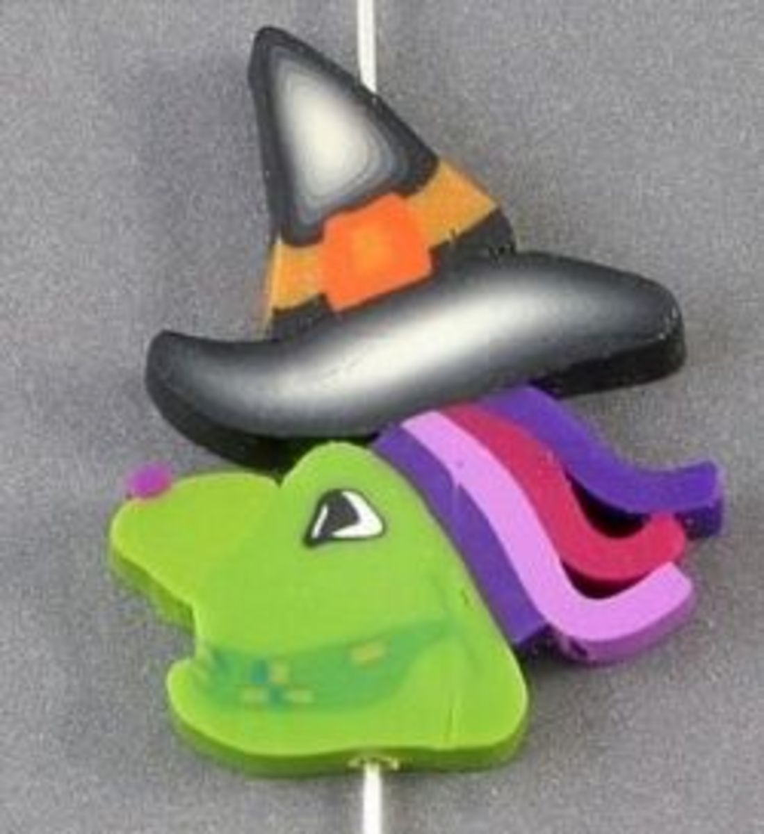 Polymer Clay Witch Beads on Amazon