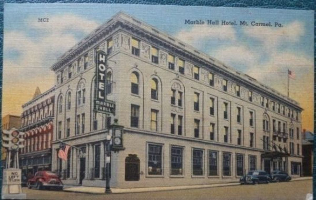 Marble Hall Hotel, Mt. Carmel, PA