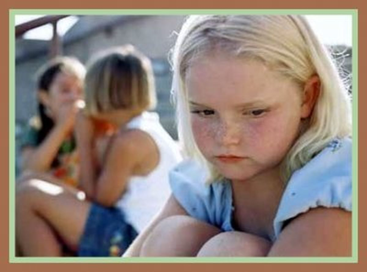 Bullying can make children feel isolated, leading to depression