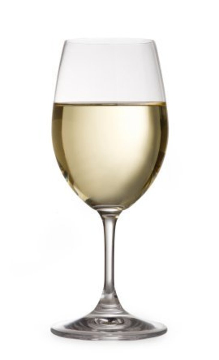 Clear White Wine