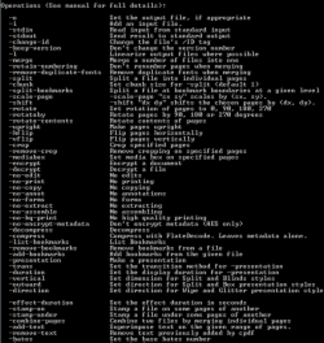 MS-DOS Command Prompt Command Lines
