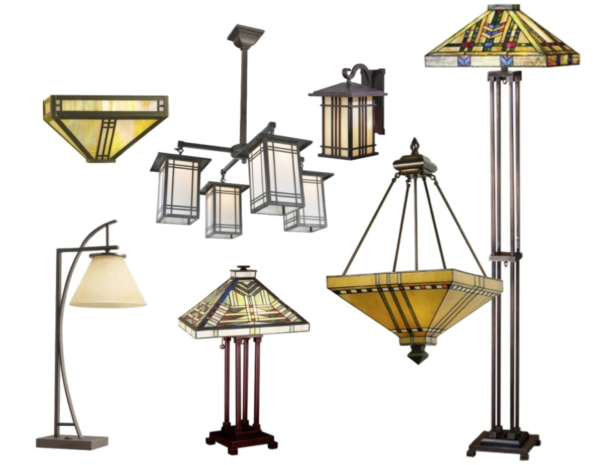 See these and more styles of Arts and Crafts style lighting at