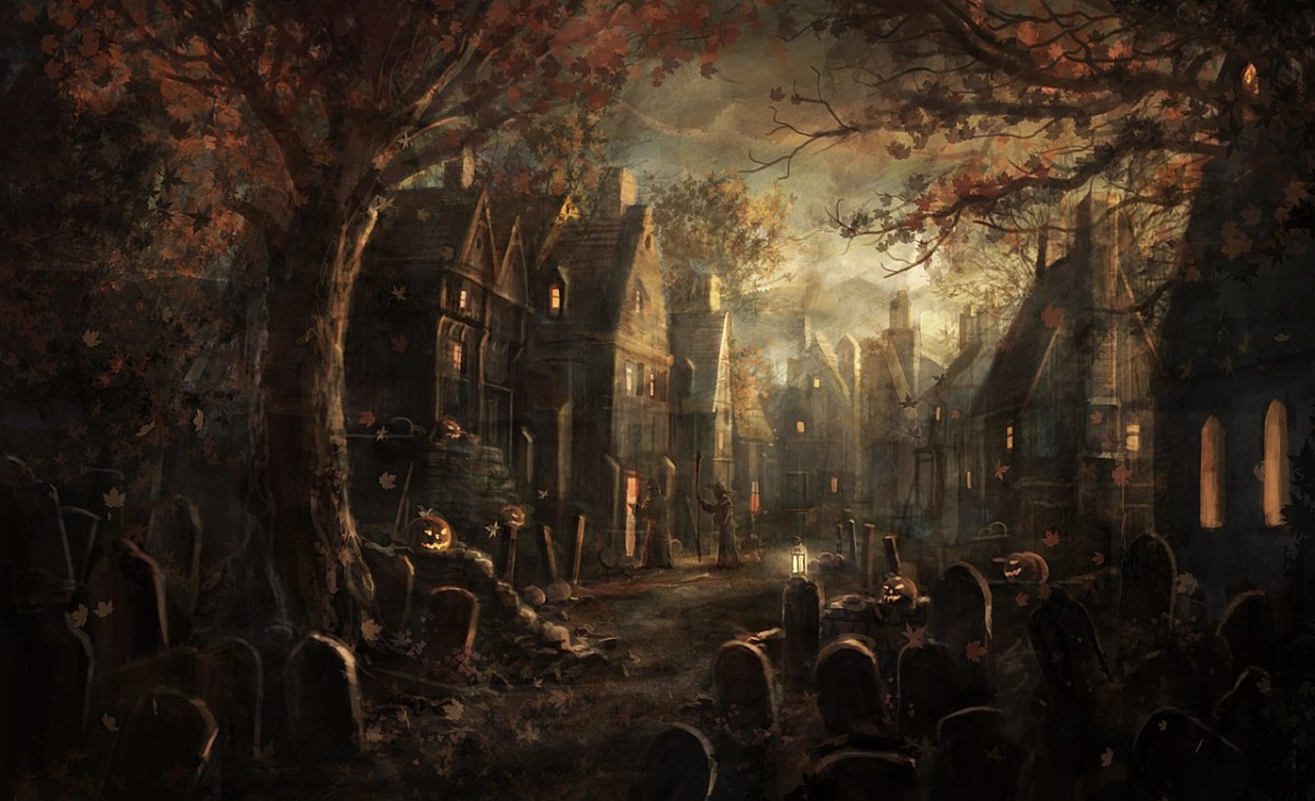 courtesy of gods of art - Where Halloween Originated From