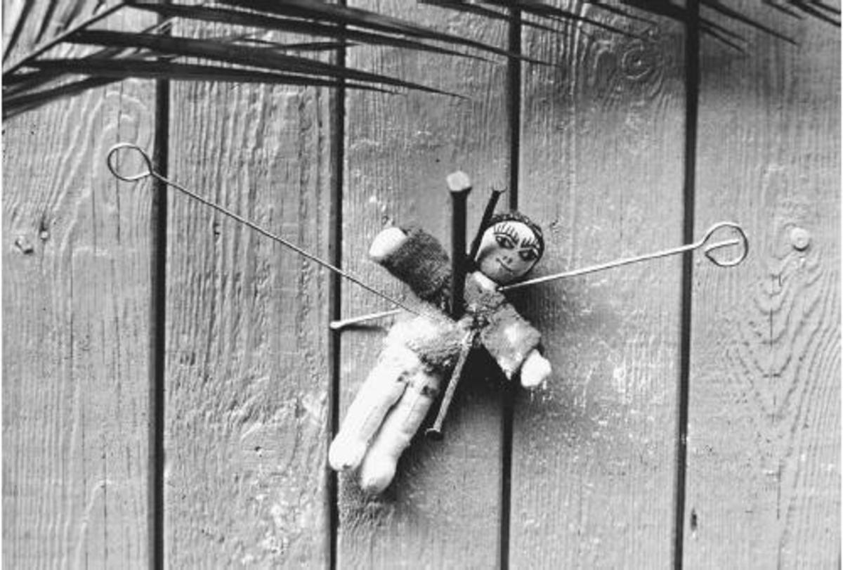 Voodoo dolls were generally used to exact revenge or inspire love, but were also sometimes the vessels of demonic possession.