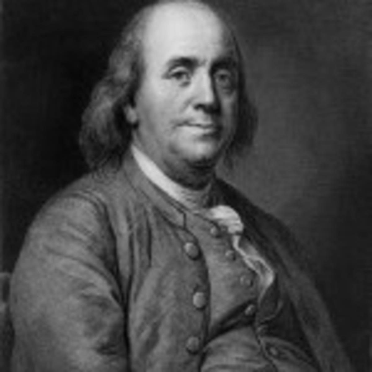 Benjamin Franklin had strong views on education.