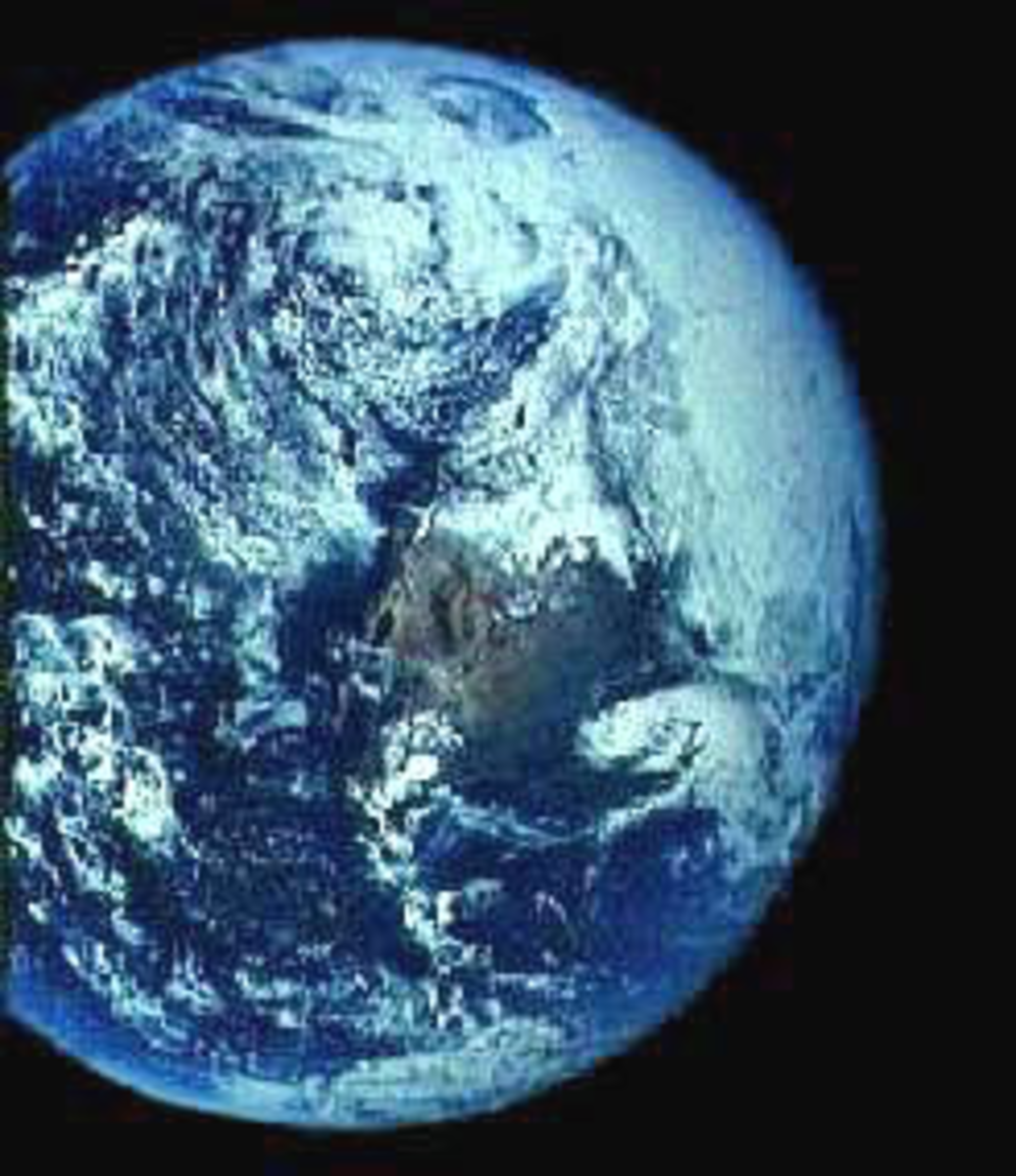 NASA photo showing Hollow Earth opening