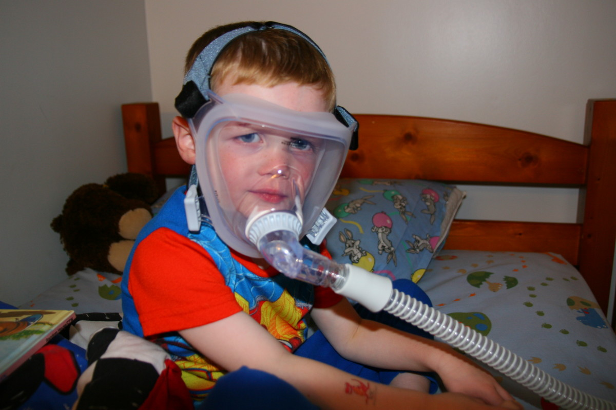The FitLife full-face mask is great for kids with congestion or who have sensory issues with the nasal mask.