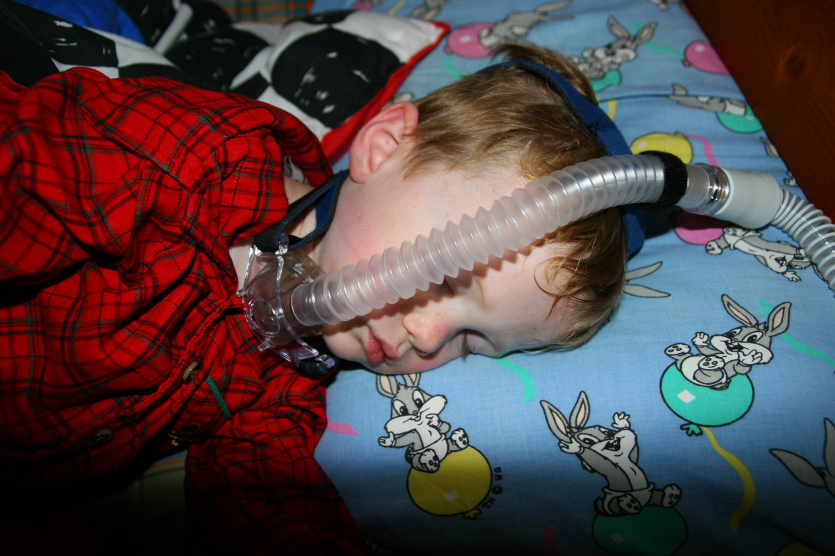 A potentially dangerous situation with this pediatric C-Pap mask.