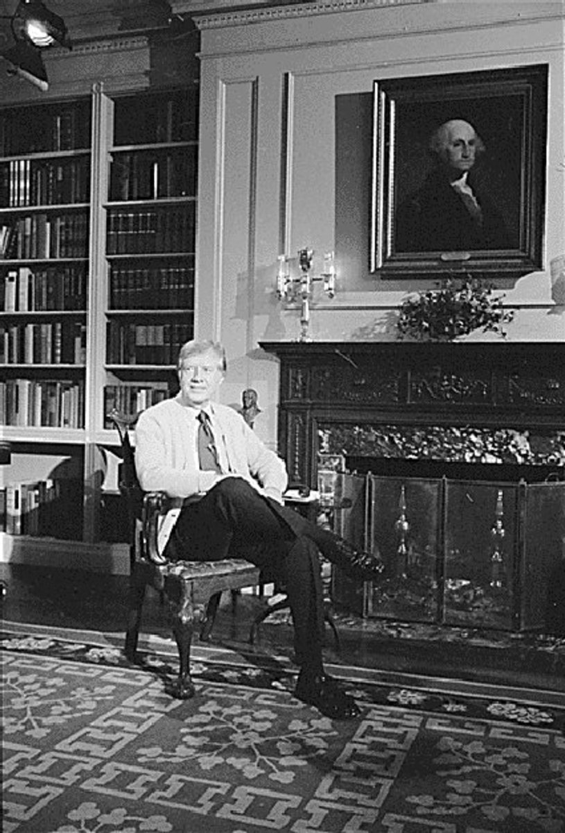 FIRESIDE CHAT WITH PRESIDENT JIMMY CARTER (1977)