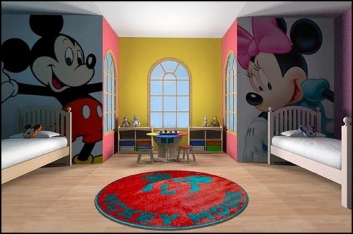 disney-minnie-mouse-bedroom-decor