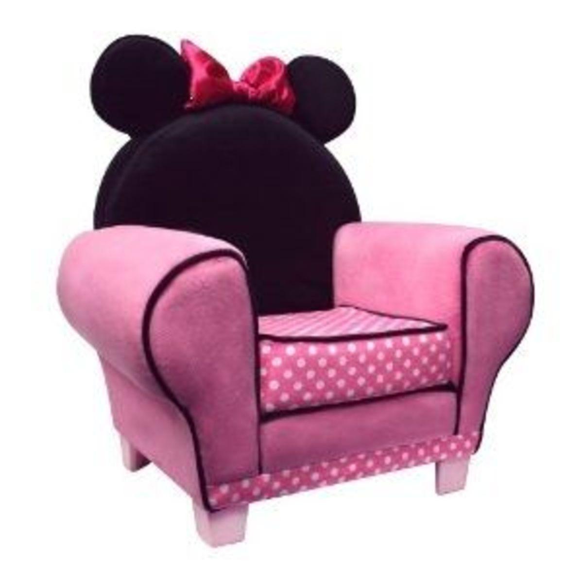 Disney Chair Minnie Mouse