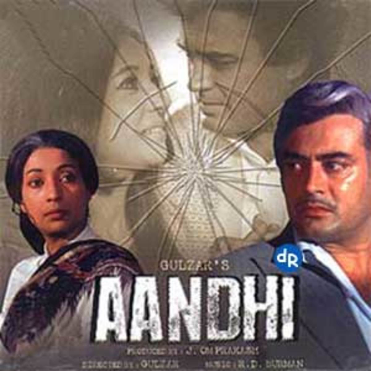 This Kishore - Lata duet takes you above the clouds, and beyond the reach of any hurricane (Aandhi).
