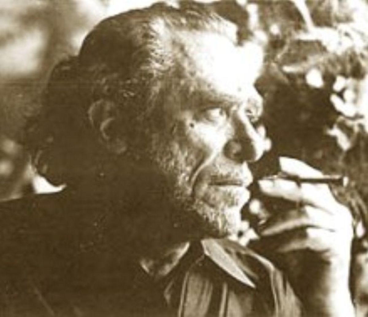 Charles Bukowski smoking Source: Wikipedia