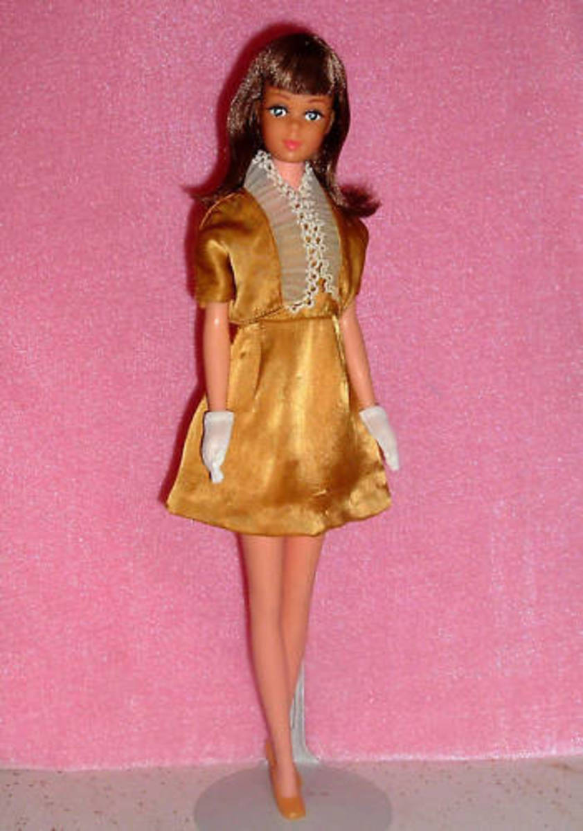 "Francie Doll's Fancy ""Mod"" Clothes: 1967"