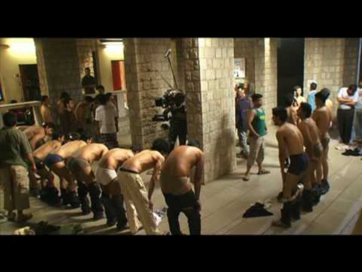 The famous ragging scene from 3 IDIOTS
