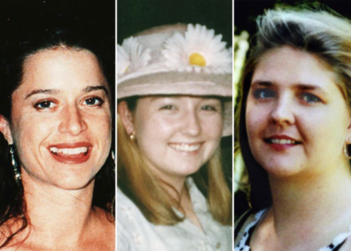 The three girls, all abducted and murdered