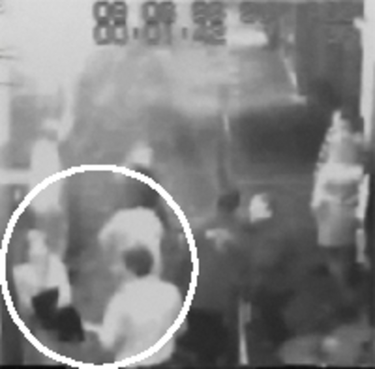 Video of the wanted mystery man
