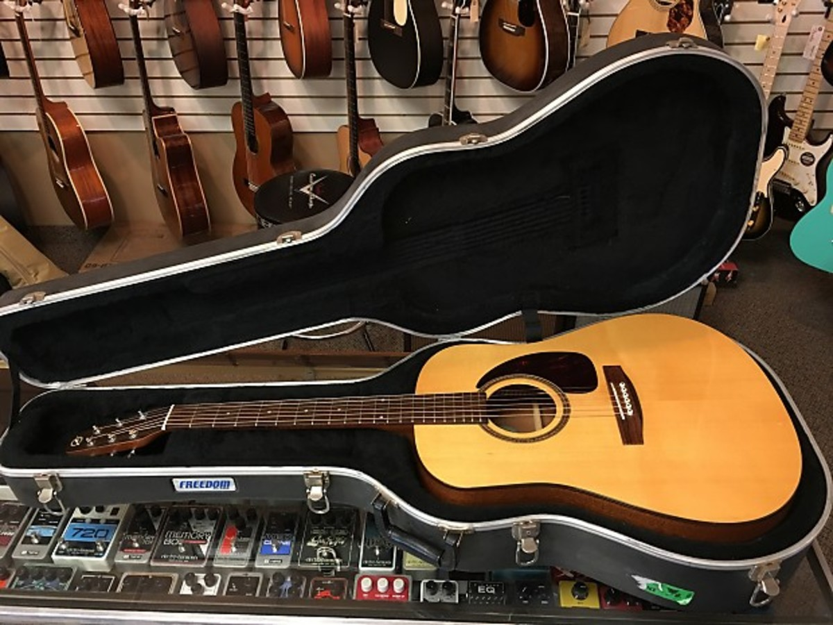 The Seagull M6 Acoustic Guitar