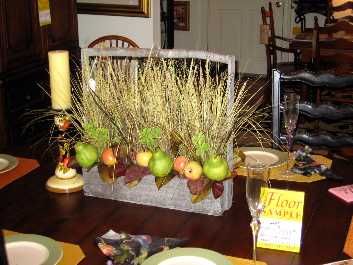 Make A Harvest Arrangement