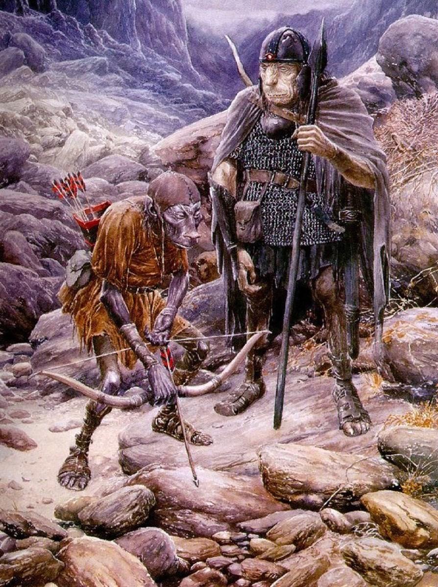 Orcs - Art by Alan Lee