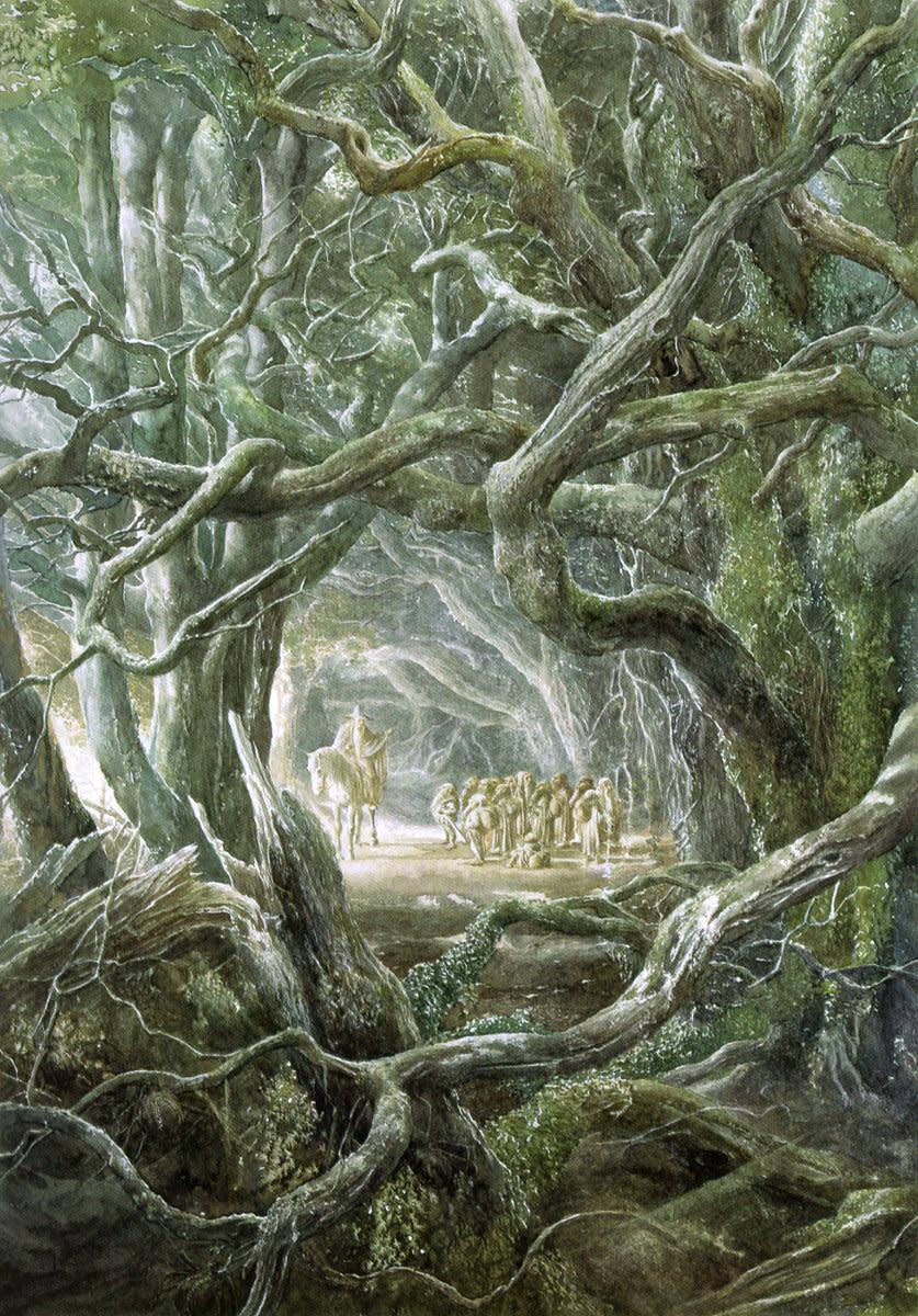 Mirkwood - Art by Alan Lee