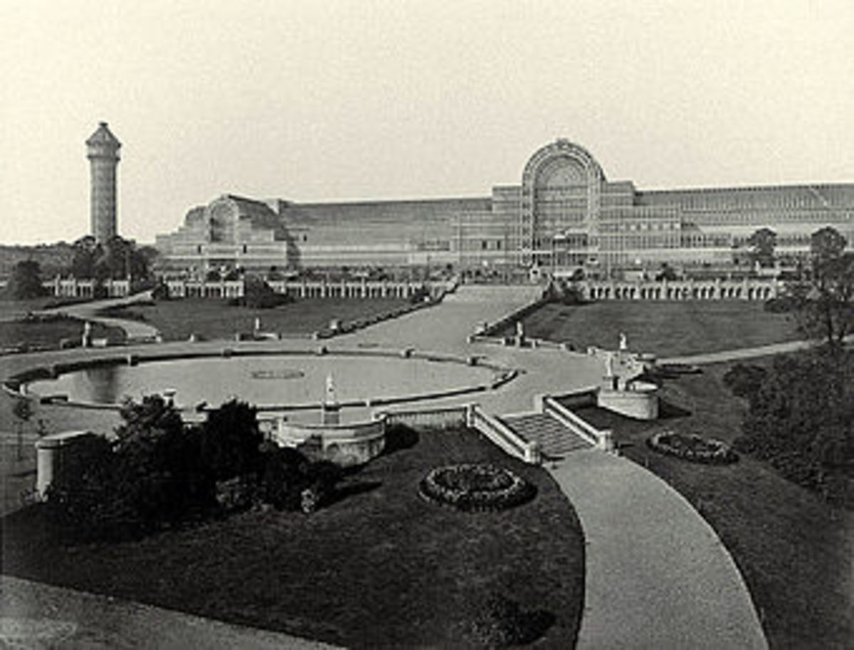 The Crystal Palace, in London.