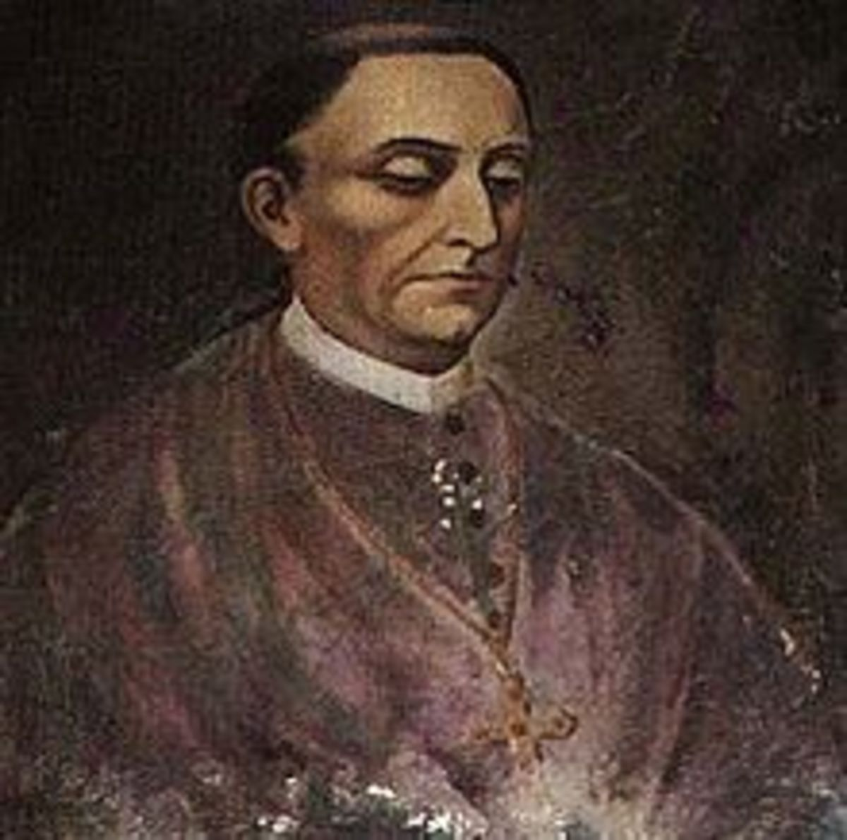 Diego de Landa, the Spanish priest who ordered the burning of the Maya codices.