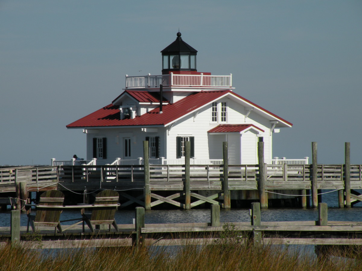 Roanoke Marsh LIghthouse