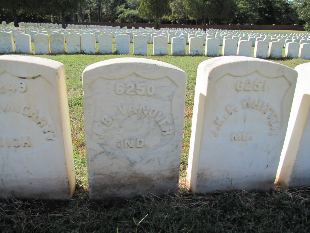 Many of the prisoners of war succumbed to scorbutus during the American Civil War.