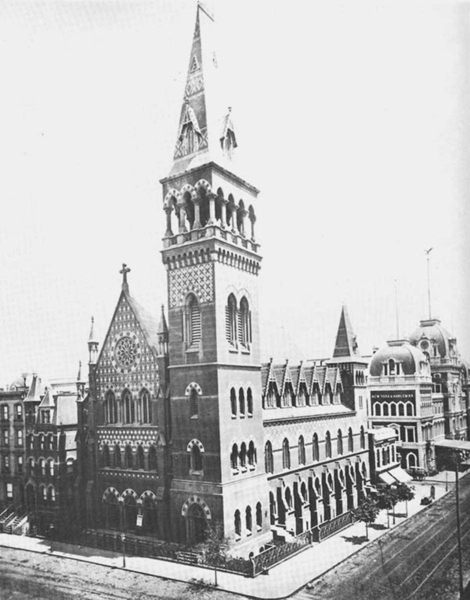 HOLY TRINITY EPISCOPAL CHURCH OF MANHATTAN (1873)