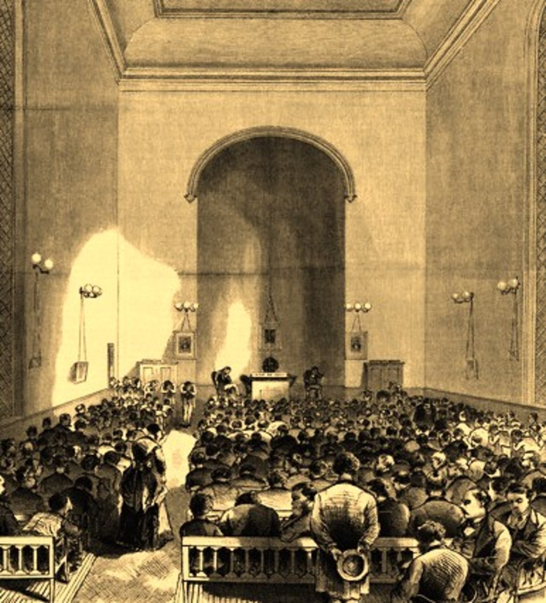 FULTON STREET PRAYER MEETING (1859)
