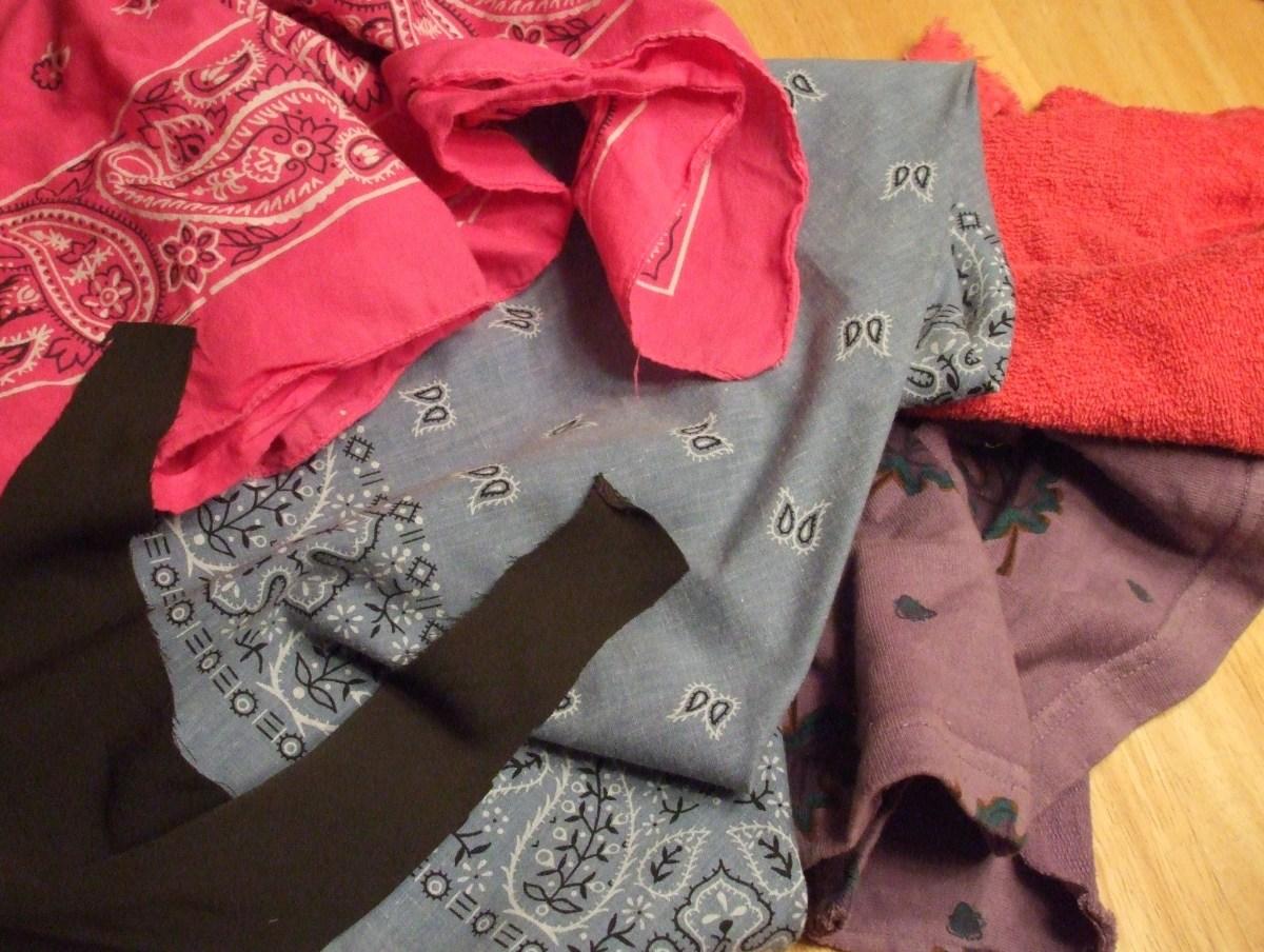 Fabric scraps.