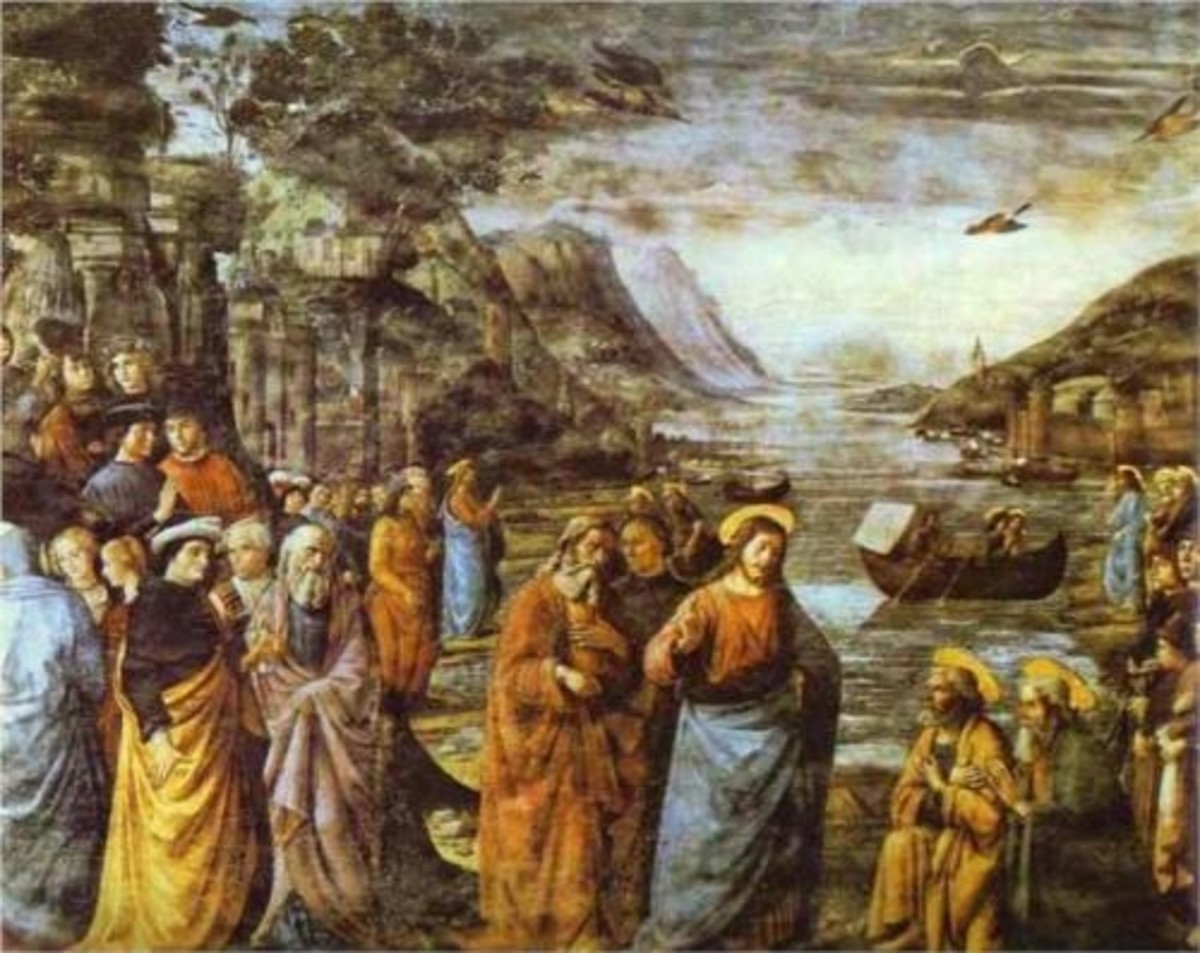 The Calling of St. Peter and St Andrew - Domenico Ghirlandaio