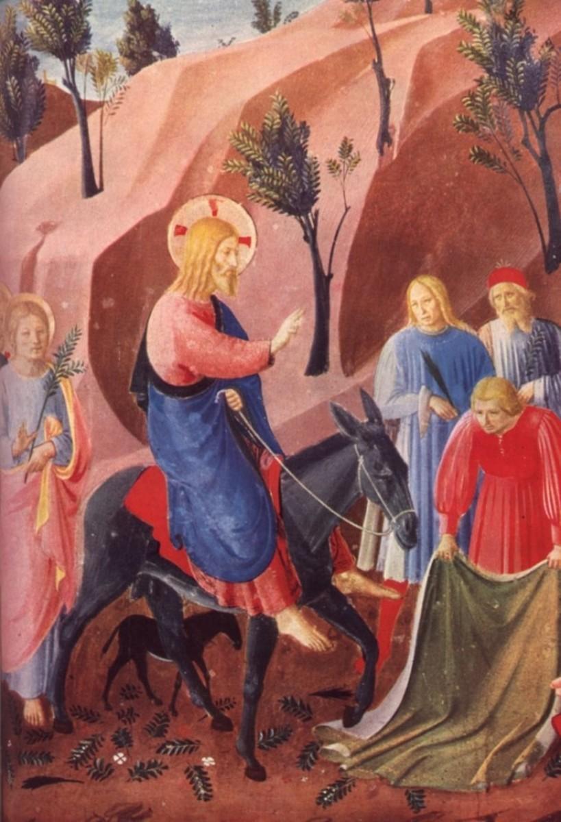 The Entry into Jerusalem Fra Angelico