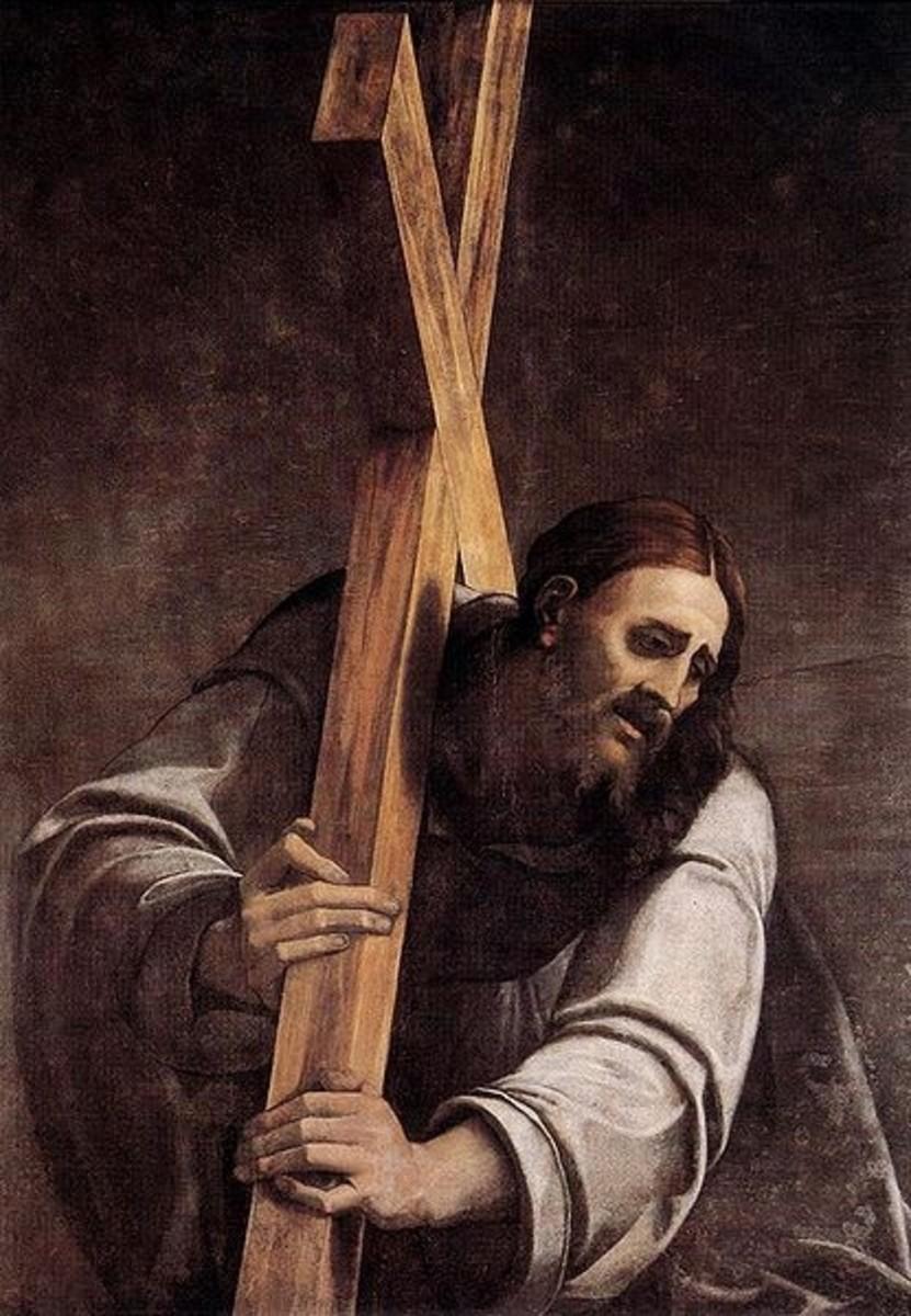 Christ Bearing the Cross - Piombo