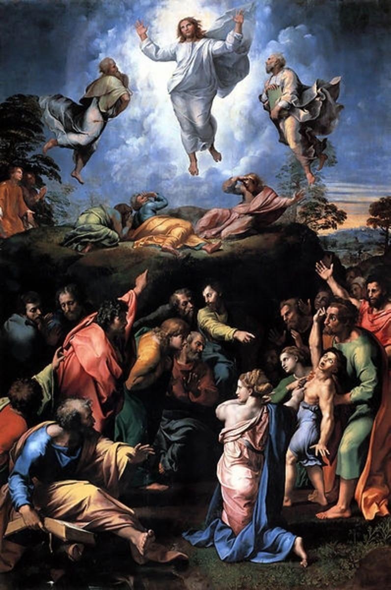 The Transfiguration - Raphael