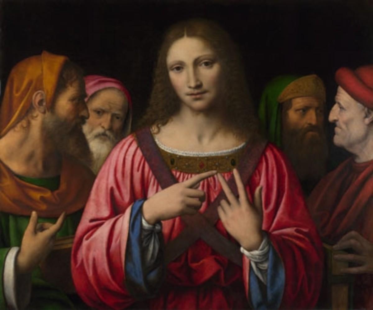 Christ in the Temple - Luini