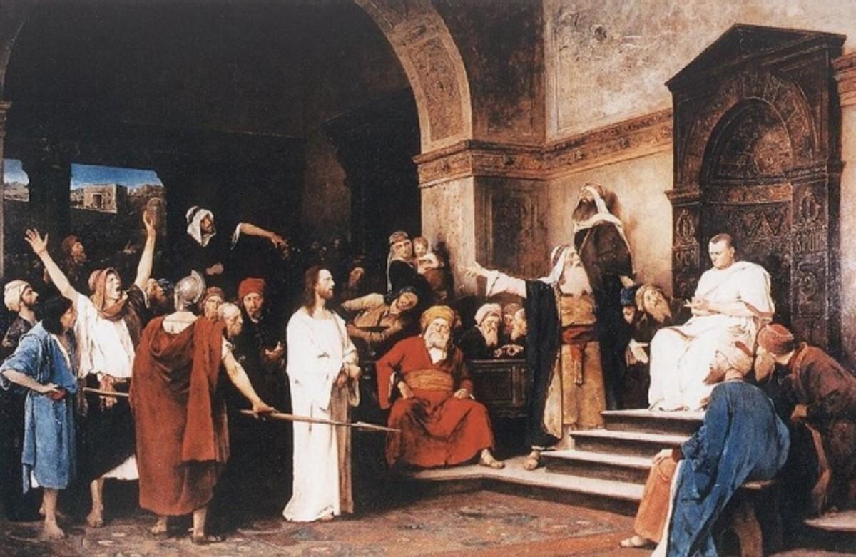 Christ Before Pilate Munckasy