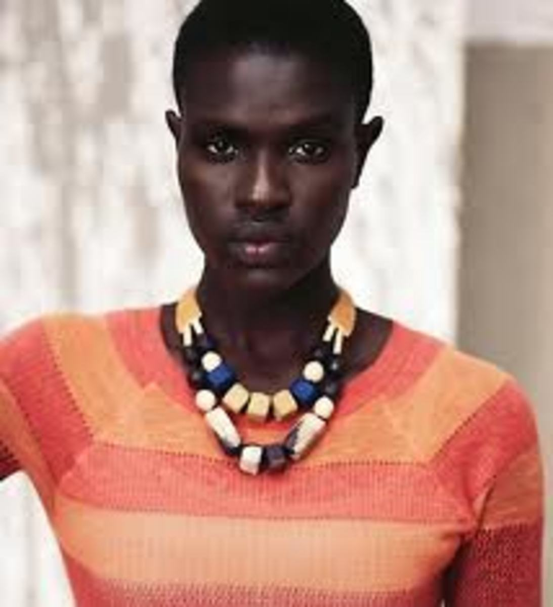 Dark-skinned Black women are seldom hired for jobs and roles in the modeling and entertainment business because they do not have a wide appeal,are considered too ethnic and unassimilable.In other words,they do not have a high crossover public appeal.