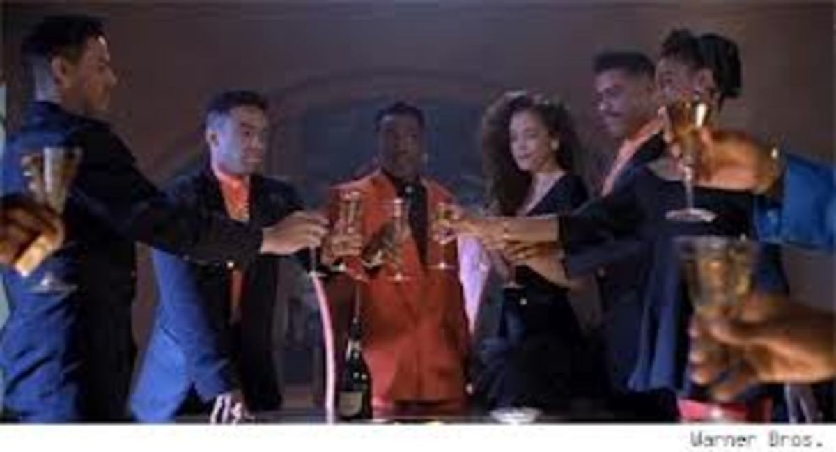 When dark-skinned Black women are hired for acting roles,those roles tend to be more negative.Vanessa A. Williams'(extreme right) role in the movie NEW JACK CITY was a drug assassin.Michael Michel,light-skinned Black, was hired to be the girlfriend.
