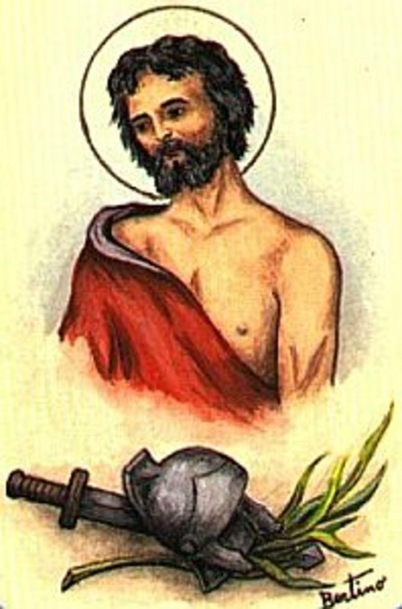 Saint Adrian of Nicomedia.