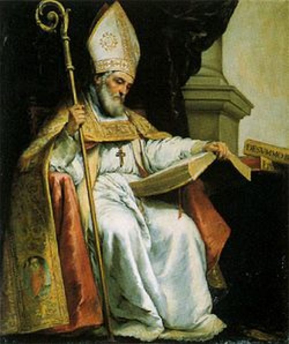 St. Isidore of Seville.