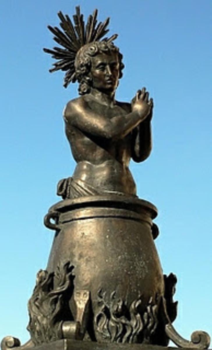 Saint Vitus Statue
